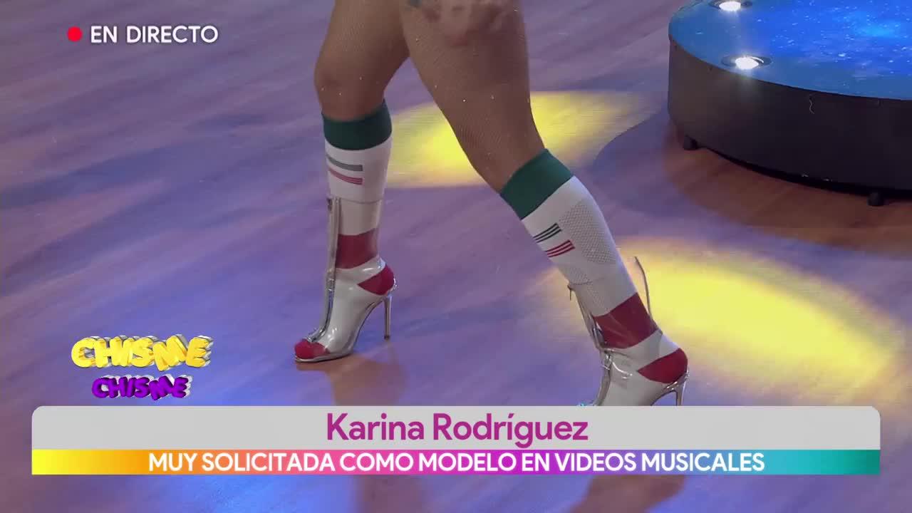 Anel Rodríguez Desnuda muy solicitada como modelo en videos musicales | multimedios