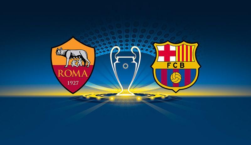 Roma x Barcelona - Champions League | 17-18 - Quartas de Final - Volta