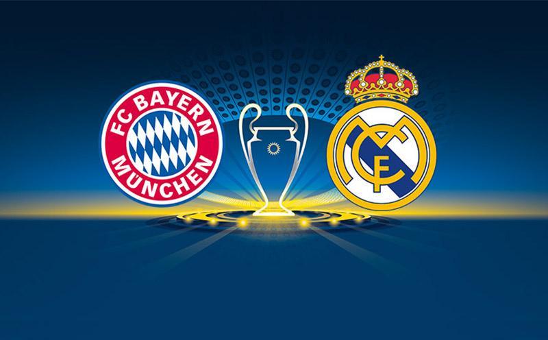 Bayern de Munique x Real Madrid - Liga dos Campeões - Semifinal - Ida