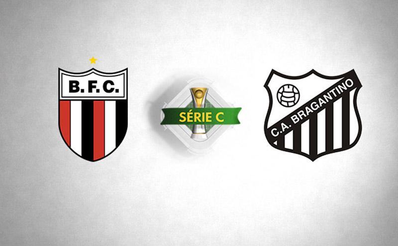 Botafogo-SP x Bragantino - Série C - 14/04/2018