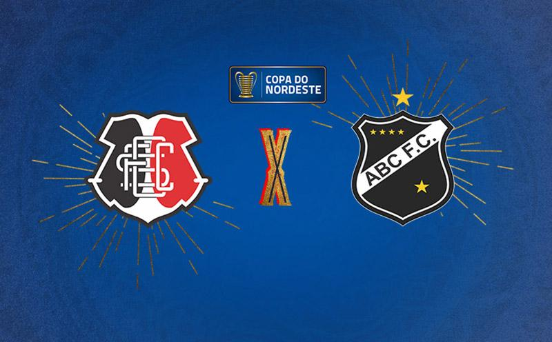 Santa Cruz x ABC - Copa do Nordeste - Quartas de Final - Volta