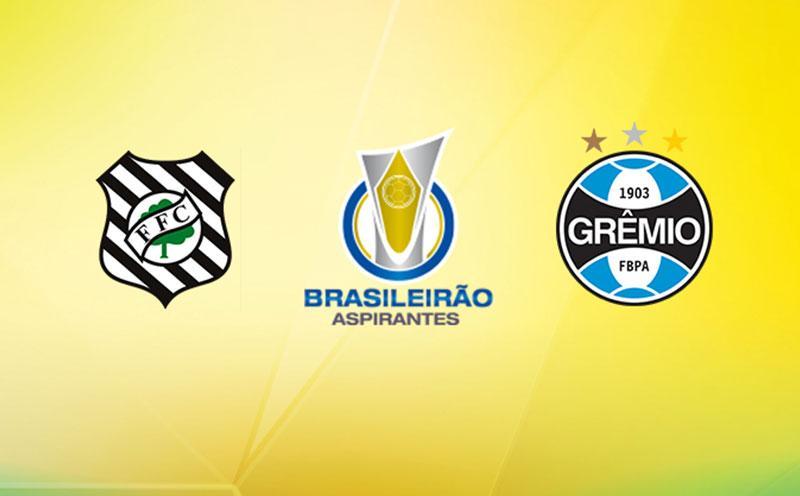 Figueirense x Grêmio - Campeonato Brasileiro de Aspirantes - 1ª Rodada