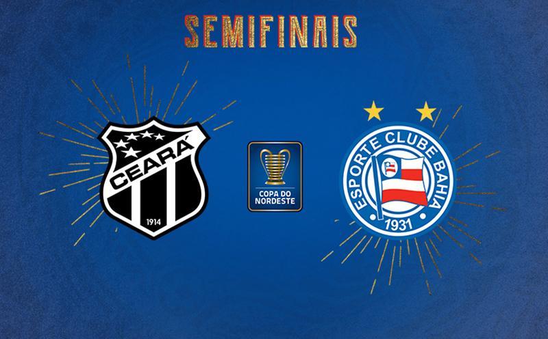 Ceará x Bahia - Semifinal Ida - Copa do Nordeste