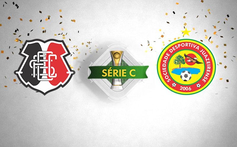 Santa Cruz x Juazeirense - Campeonato Brasileiro - Série C - 8ª Rodada