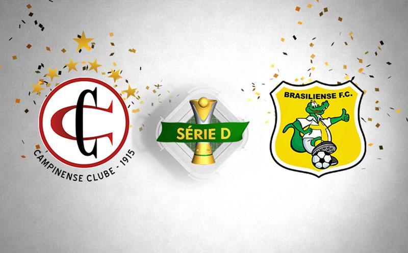 Campinense x Brasiliense - Campeonato Brasileiro - Série D - Oitavas de Final - Volta