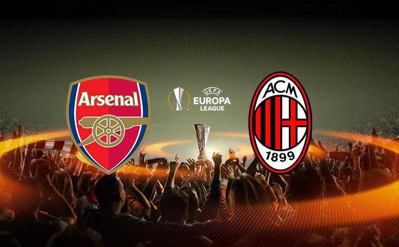 Arsenal x Milan - Europa League - Oitavas de final - Volta