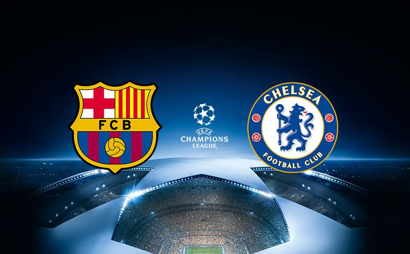 Barcelona x Chelsea - Champions League | 17-18 - Oitavas de final - Volta