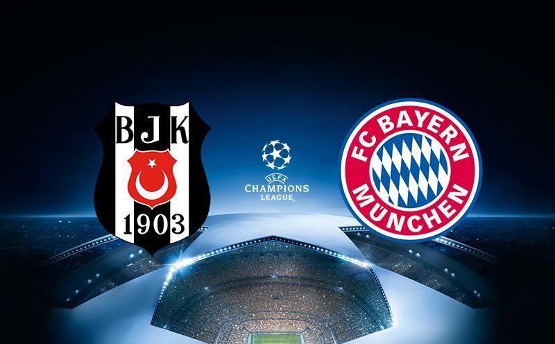 Besiktas x Bayern de Munique - Liga dos Campeões - Oitavas de final - Volta