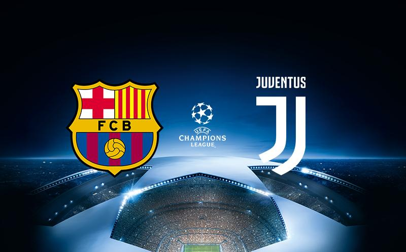 Barcelona x Juventus - Champions League 17-18