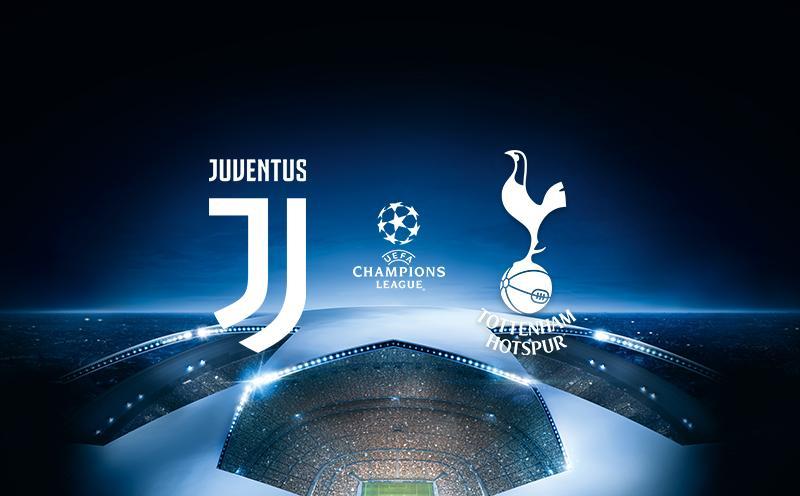 Juventus x Tottenham - Liga dos Campeões - Oitavas de Final - Ida