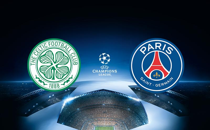 Celtic x PSG - Champions League 17-18