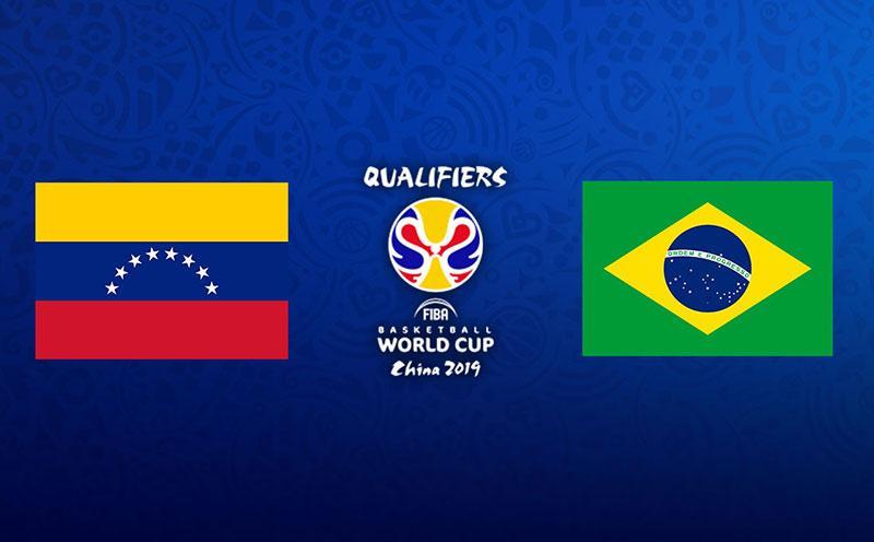 Venezuela x Brasil - Eliminatórias Copa do Mundo de Basquete