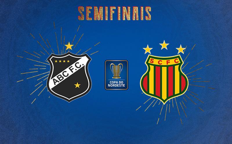 ABC x Sampaio Corrêa - Semifinal Volta - Copa do Nordeste