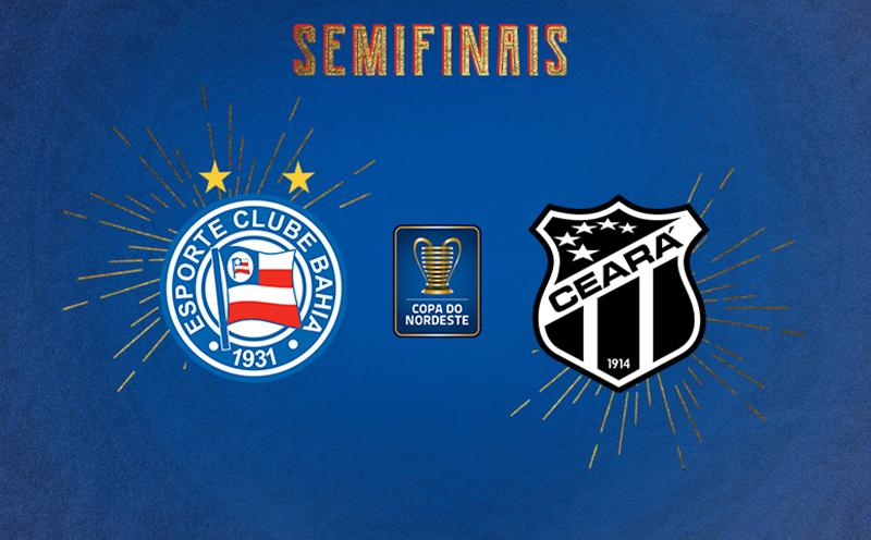 Bahia x Ceará - Semifinal Volta - Copa do Nordeste