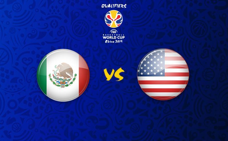 México x EUA - Eliminatórias da Copa do Mundo de Basquete