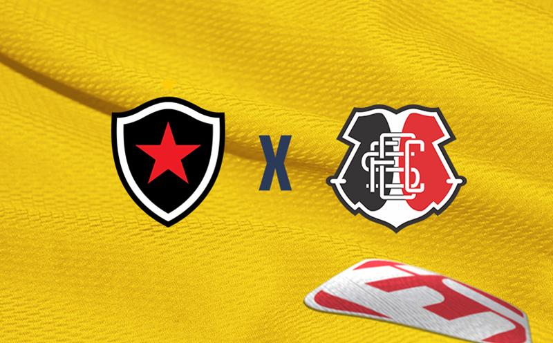 Botafogo PB x Santa Cruz - Brasileirão Série C - 15ª Rodada