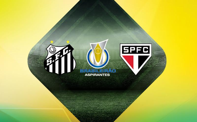 Santos x São Paulo - Brasileirão de Aspirantes - 5ª Rodada
