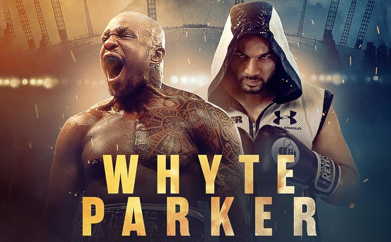 Boxe Internacional - White vs Parker