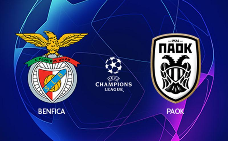Benfica x PAOK - Champions League - Playoffs - Ida
