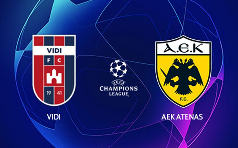 Videoton x AEK Atenas - Champions League - Playoffs - Ida