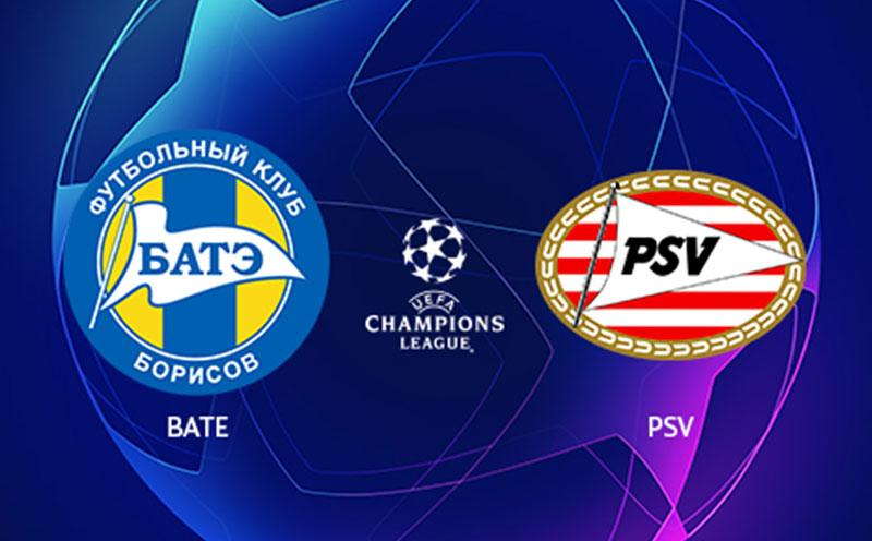 Bate Borisov x PSV - Champions League - Playoffs - Ida