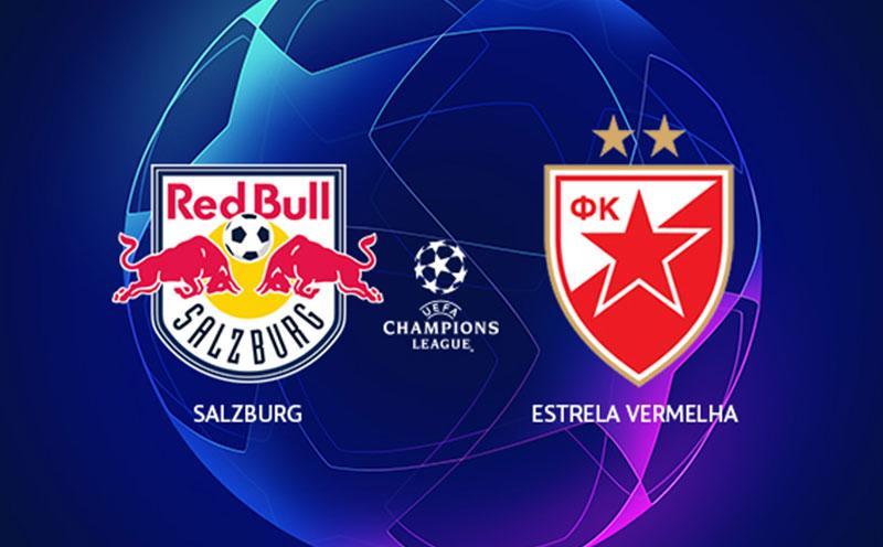 RB Salzburg x Estrela Vermelha - Champions League - Playoffs - Volta