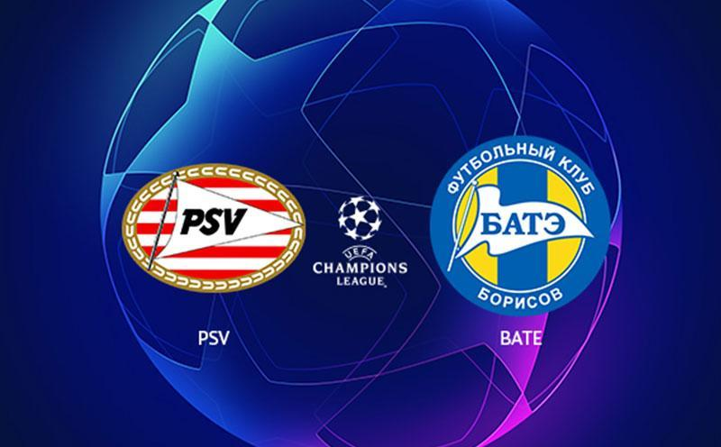 PSV x Bate Borisov - Champions League - Playoffs - Volta