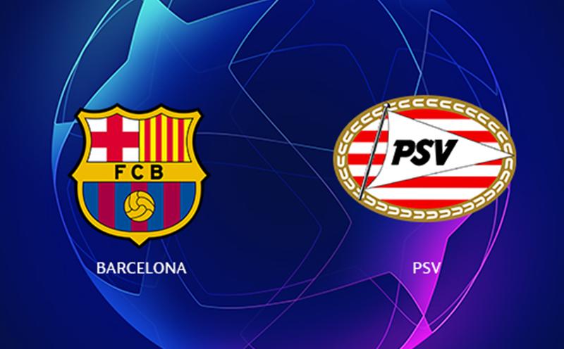 Barcelona x PSV - Champions League - Fase de Grupos - 1ª Rodada