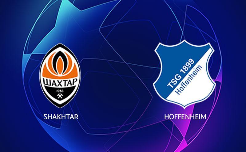 Shakhtar Donetsk x Hoffenhein - Champions League - Fase de Grupos - 1ª Rodada
