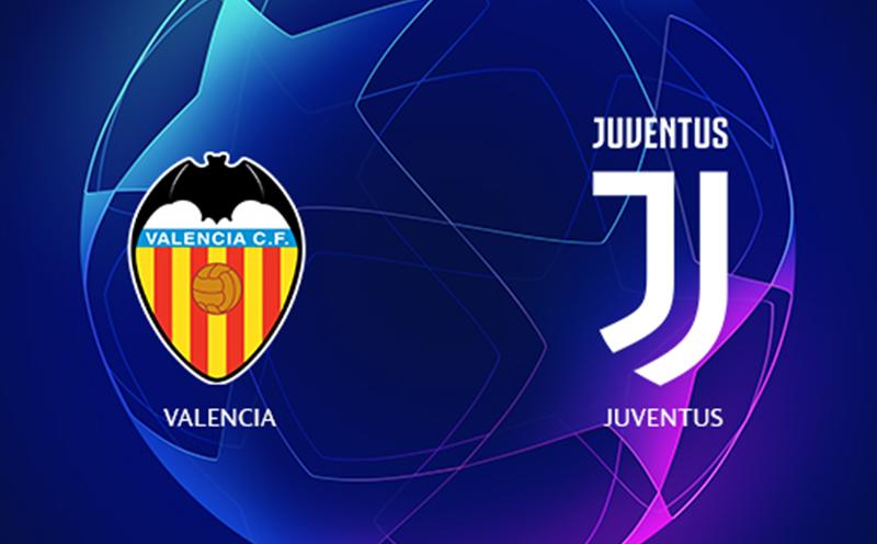 Valencia x Juventus - Champions League - Fase de Grupos - 1ª Rodada