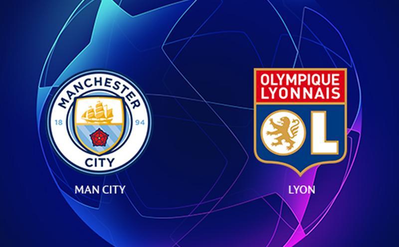 Manchester City x Lyon - Champions League - Fase de Grupos - 1ª Rodada