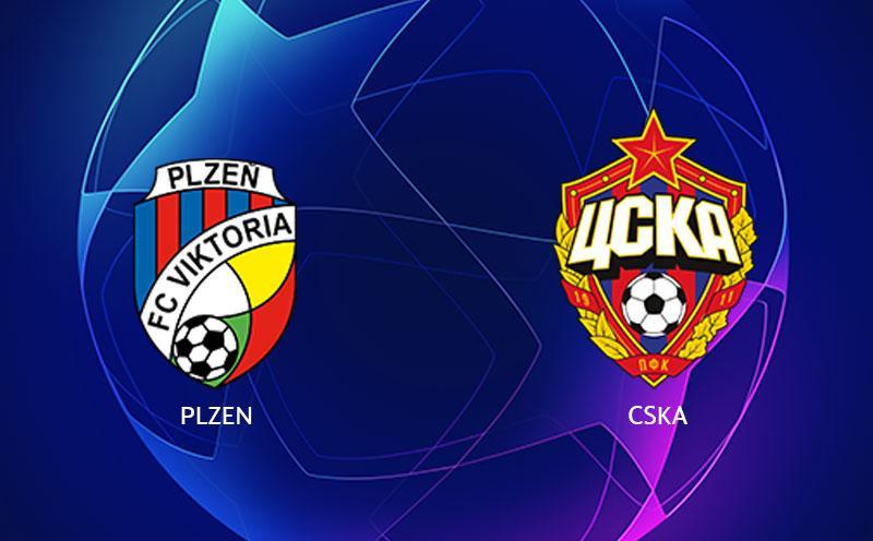 Viktoria PLZEN x CSKA Moscou - Champions League - Fase de Grupos - 1ª Rodada