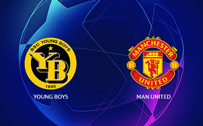 Young Boys x Manchester United - Champions League - Fase de Grupos - 1ª Rodada