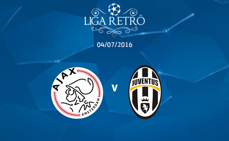 Liga Retrô: Ajax x Juventus - Final - Temporada 1995/1996