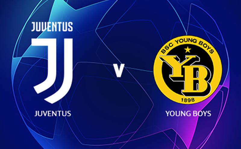 Juventus x Young Boys - Champions League - Fase de Grupos - 2ª Rodada