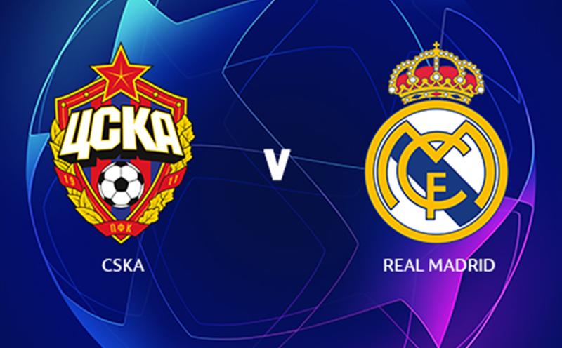 CSKA x Real Madrid - Champions League - Fase de Grupos - 2ª Rodada