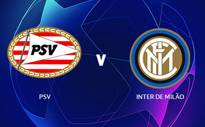 PSV x Inter de Milão - Champions League - Fase de Grupos - 2ª Rodada