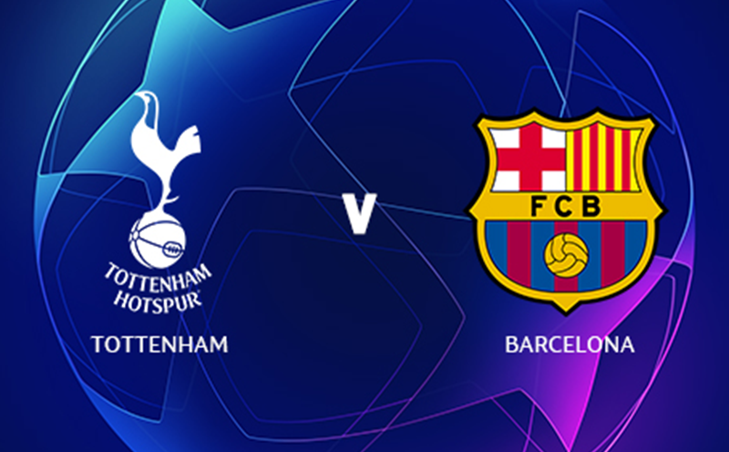 Tottenham x Barcelona - Champions League - Fase de Grupos - 2ª Rodada