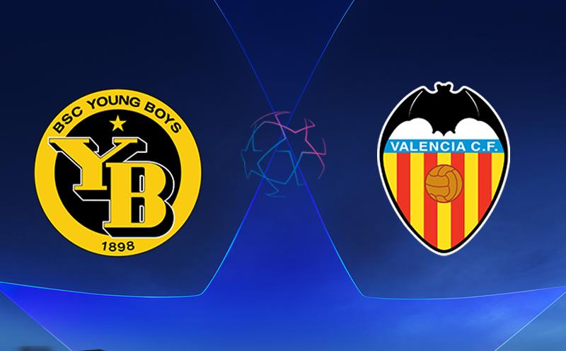 Young Boys x Valencia - Champions League - Fase de Grupos - 3ª Rodada