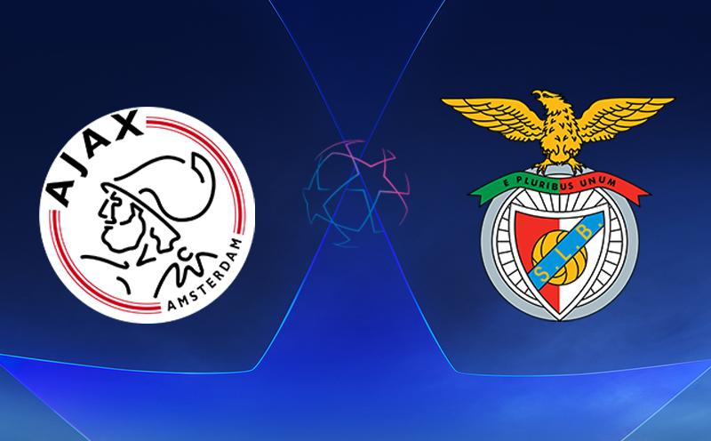 Ajax x Benfica - Champions League - Fase de Grupos - 3ª Rodada