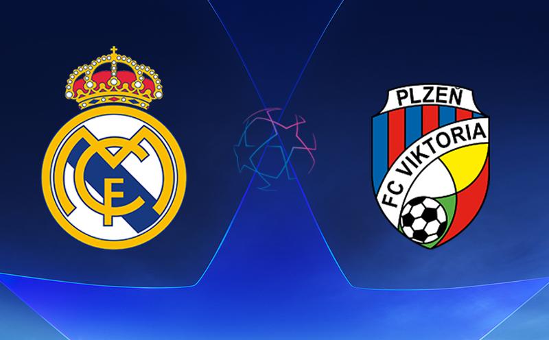 Real Madrid x Viktoria Plzen - Champions League - Fase de Grupos - 3ª Rodada