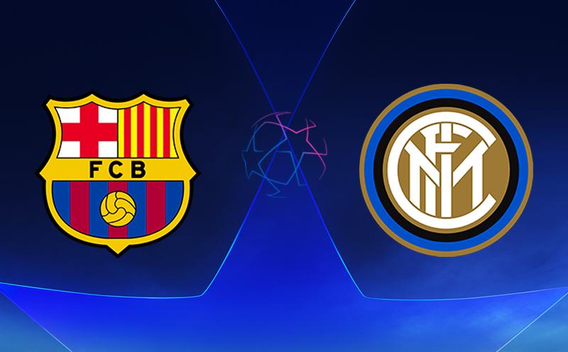 Barcelona x Inter de Milão - Champions League - Fase de Grupos - 3ª Rodada