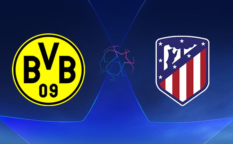 Borussia Dortmund x Atlético de Madrid - Champions League - Fase de Grupos - 3ª Rodada
