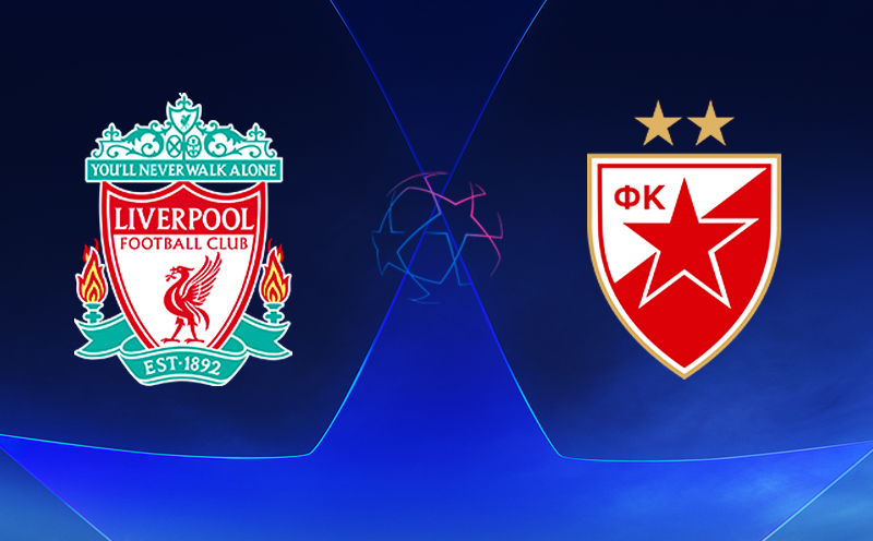 Liverpool x Estrela Vermelha - Champions League - Fase de Grupos - 3ª Rodada