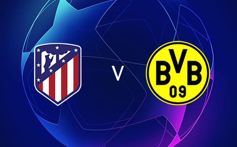 Atlético de Madrid x Borussia Dortmund - Champions League - Fase de Grupos - 4ª Rodada