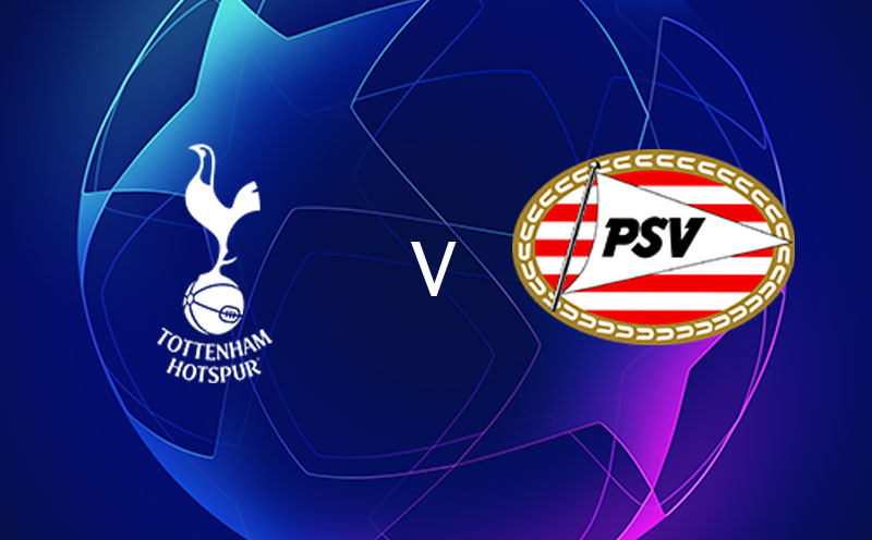 Tottenham x PSV - Champions League - Fase de Grupos - 4ª Rodada