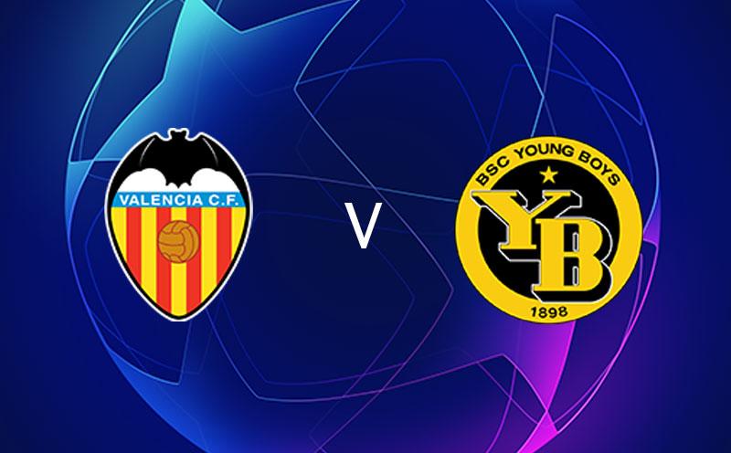 Valencia x Young Boys - Champions League - Fase de Grupos - 4ª Rodada