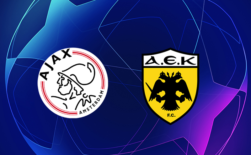 AEK Atenas x Ajax - 5ª Rodada