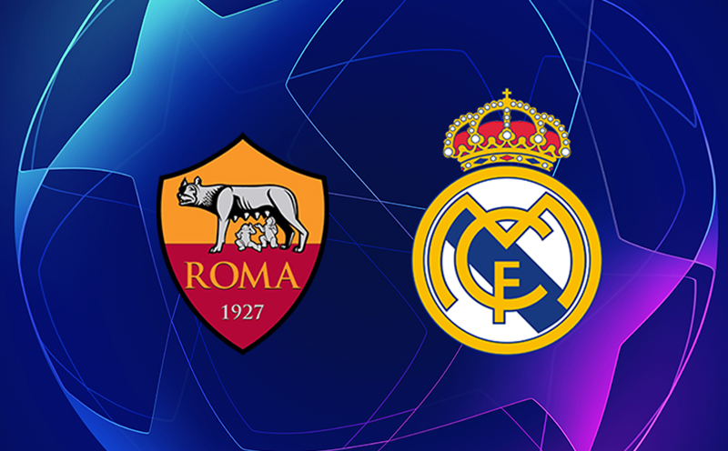 Roma x Real Madrid - 5ª Rodada