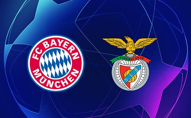 Bayern de Munique x Benfica - 5ª Rodada